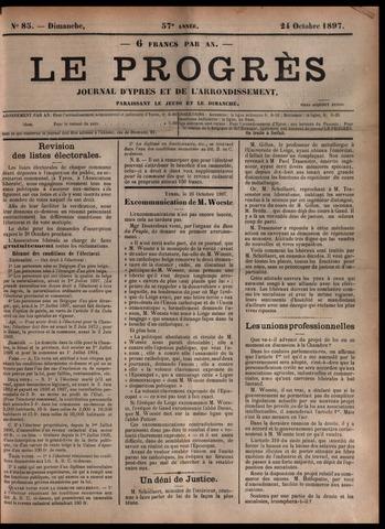 Le Progrès (1841-1914) 1897-10-24