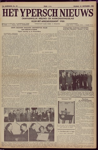 Het Ypersch nieuws (1929-1971) 1966-11-25