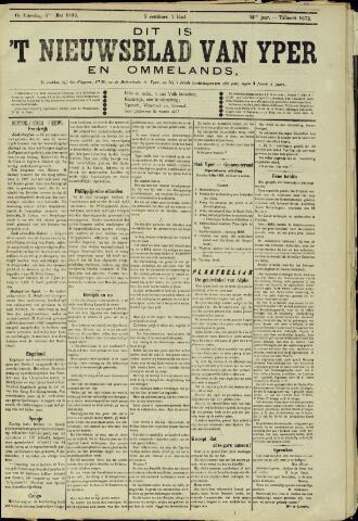 Nieuwsblad van Yperen en van het Arrondissement (1872 - 1912) 1899-05-06