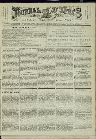 Journal d'Ypres (1874 - 1913) 1877-07-07