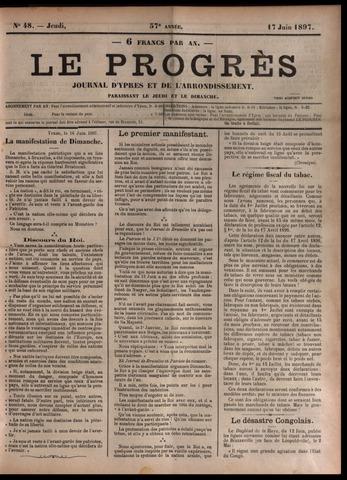 Le Progrès (1841-1914) 1897-06-17