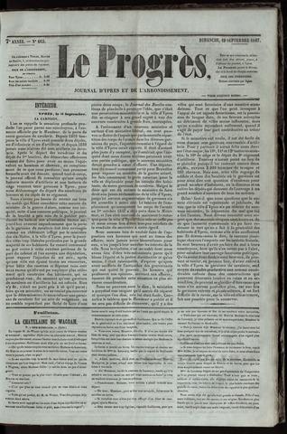 Le Progrès (1841-1914) 1847-09-19