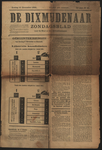 De Dixmudenaar 1895-11-10
