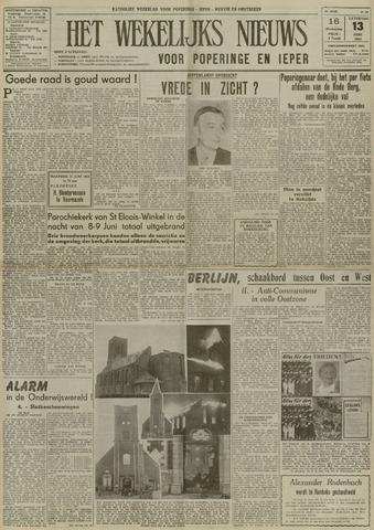 Het Wekelijks Nieuws (1946-1990) 1953-06-13