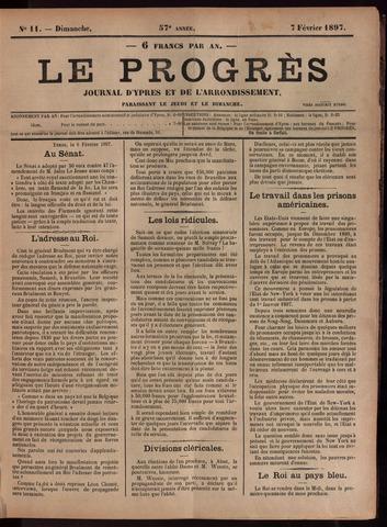 Le Progrès (1841-1914) 1897-02-07