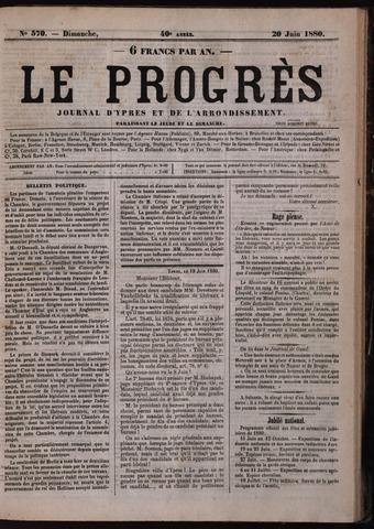 Le Progrès (1841-1914) 1880-06-20