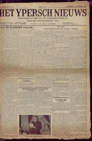 Het Ypersch nieuws (1929-1971) 1960-10-29