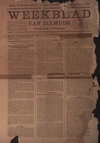 Weekblad van Dixmude 1877