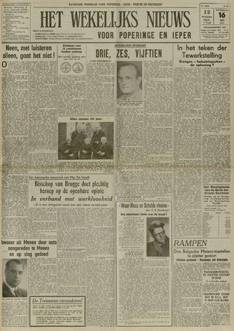 Het Wekelijks Nieuws (1946-1990) 1953-05-16
