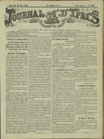Journal d'Ypres (1874 - 1913) 1899-05-24