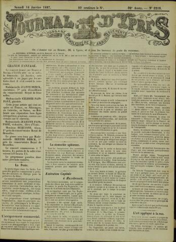 Journal d'Ypres (1874 - 1913) 1897-01-16