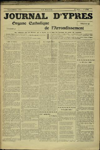 Journal d'Ypres (1874 - 1913) 1912-03-23