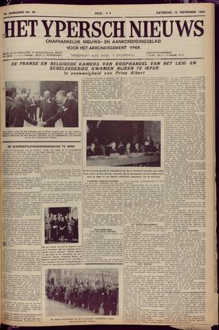 Het Ypersch nieuws (1929-1971) 1963-11-16