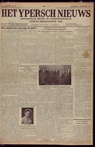 Het Ypersch nieuws (1929-1971) 1961-09-09