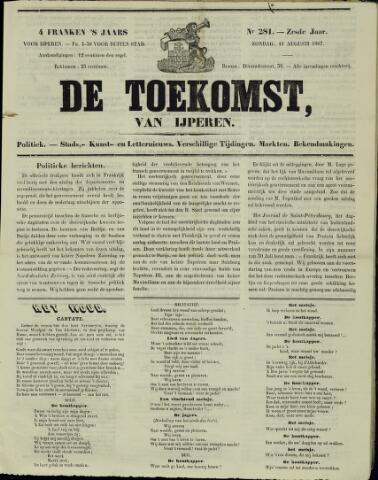 De Toekomst (1862 - 1894) 1867-08-11
