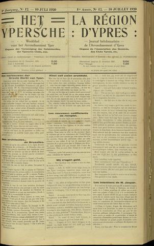 Het Ypersche (1925 - 1929) 1920-07-10