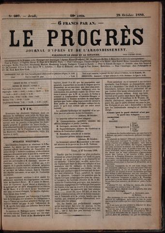 Le Progrès (1841-1914) 1880-10-28