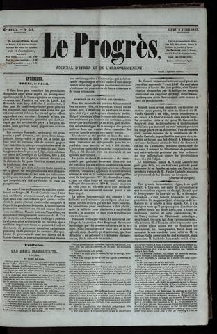 Le Progrès (1841-1914) 1847-04-08