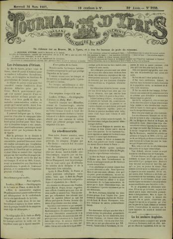 Journal d'Ypres (1874 - 1913) 1897-03-31