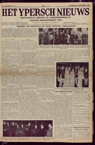 Het Ypersch nieuws (1929-1971) 1965-09-25