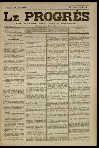 Le Progrès (1841-1914) 1905-07-09