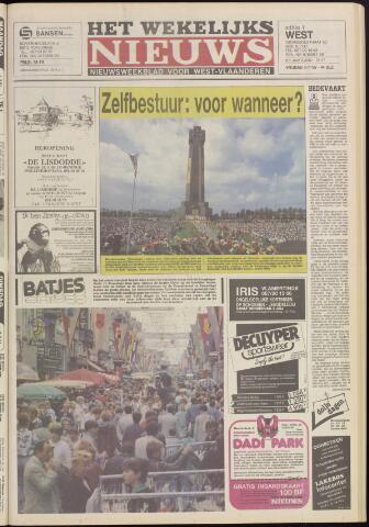 Het Wekelijks Nieuws (1946-1990) 1985-07-05