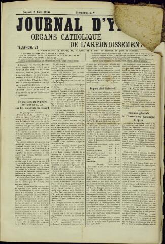 Journal d'Ypres (1874 - 1913) 1906-03-03