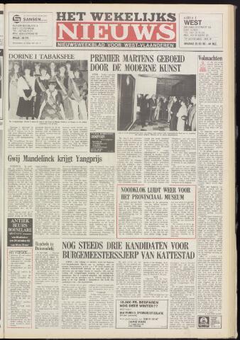 Het Wekelijks Nieuws (1946-1990) 1982-10-22