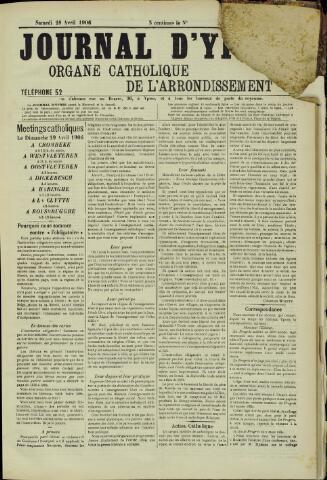 Journal d'Ypres (1874 - 1913) 1906-04-28