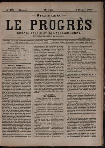 Le Progrès (1841-1914) 1879-10-05