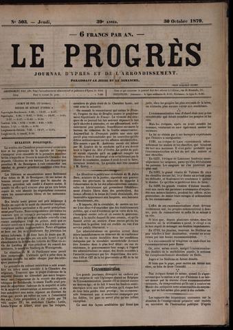 Le Progrès (1841-1914) 1879-10-30