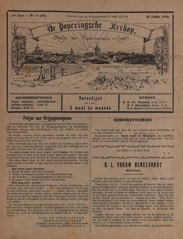 De Poperingsche Keikop (1917-1919) 1918-08-15