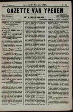 Gazette van Yperen (1857-1862) 1857-12-05