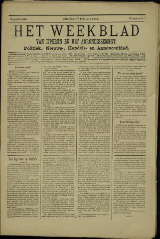 Het weekblad van Ijperen (1886 - 1906) 1894-02-17