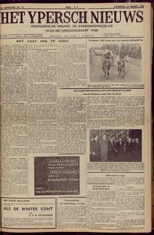 Het Ypersch nieuws (1929-1971) 1963-03-23
