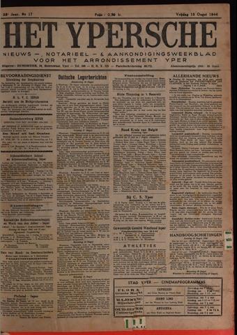 Het Ypersch nieuws (1929-1971) 1944-08-18