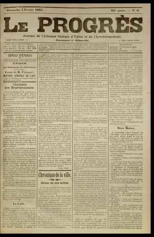 Le Progrès (1841-1914) 1905-02-05