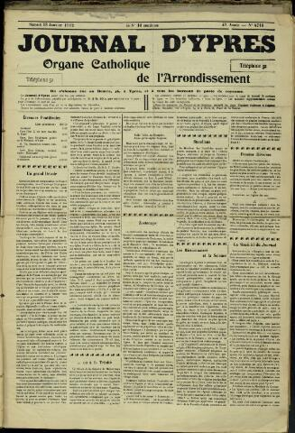 Journal d'Ypres (1874 - 1913) 1912-01-13
