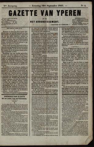 Gazette van Yperen (1857-1862) 1857-09-19