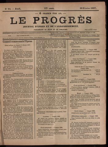 Le Progrès (1841-1914) 1897-02-18