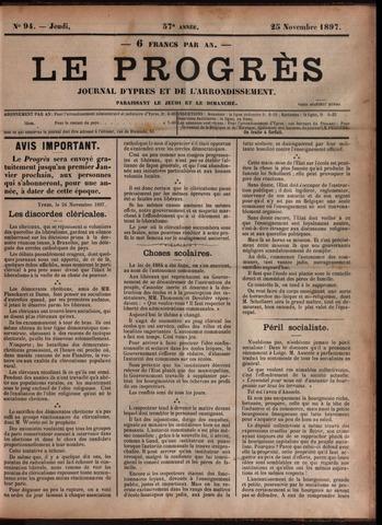 Le Progrès (1841-1914) 1897-11-25