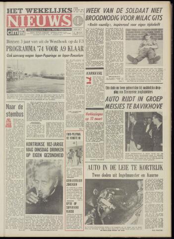 Het Wekelijks Nieuws (1946-1990) 1974-02-01