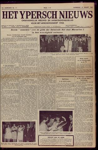 Het Ypersch nieuws (1929-1971) 1965-03-20