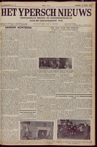 Het Ypersch nieuws (1929-1971) 1966-04-22