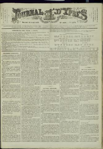 Journal d'Ypres (1874 - 1913) 1877-04-18