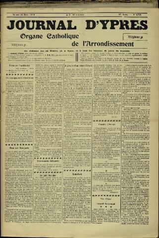 Journal d'Ypres (1874 - 1913) 1912-03-16
