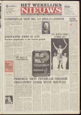 Het Wekelijks Nieuws (1946-1990) 1982-03-05