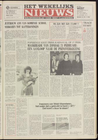 Het Wekelijks Nieuws (1946-1990) 1982-02-19