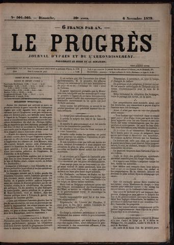 Le Progrès (1841-1914) 1879-11-06