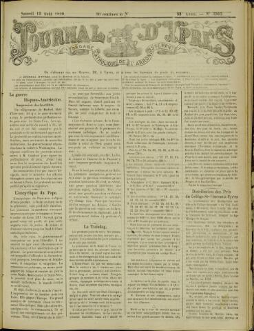 Journal d'Ypres (1874 - 1913) 1898-08-13